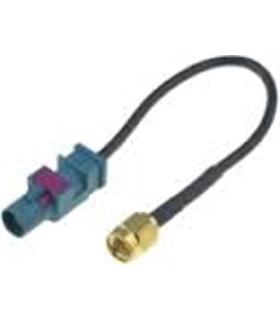 Adaptador auto-rádio para antena Fakra -> SMA-A - 150mm - MX0190618