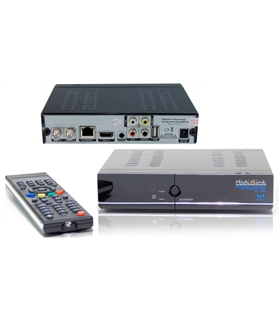 Receptor Satélite Full HD Ethernet & Multimedia IPTV Medialk - ML1150P