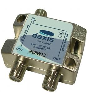 ED0407 - Repartidor com ficha F 1 Entrada / 2 Saídas 2.4Ghz - 69TF2