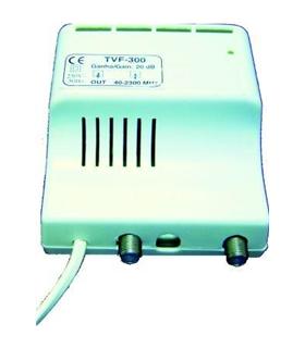 Amplificador De Antena 1 Saída 40 A 2300 Mhz - TVF300