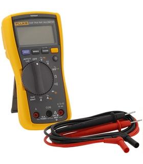 FLUKE 117 - Multímetro digital TRMS Medidas de Vac/dc, Aac/ - FLUKE117