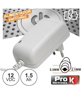 FAS12V1.5AW - Alimentador Switching 12V 1.5A - FAS12V1.5AW