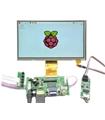 "RASPLCD7 - Kit LCD 7"" para Raspberry com HDMI e VGA"