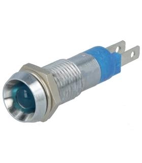 Indicador LED 8.2mm Azul - SMBD08414