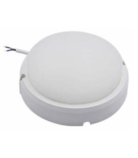 Painel LED Redondo Aplique 12W 160mm 900lm Branco Natural - APLR1216NW