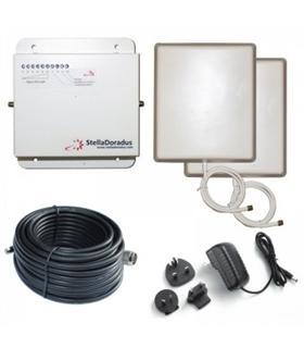 SD-RP-1002-LGW - Repetidor Tri GSM 3G 4G Stella Home - SD-RP1002-LGW