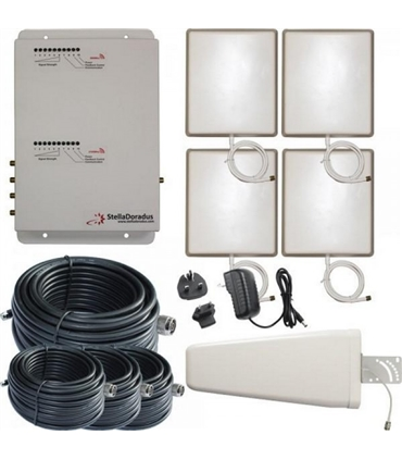 SD-RP-1002LG-4 - Repetidor Dual 800MHz 900MHz Stella Office - SD-RP-1002LG-4