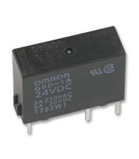 G6D-1A-ASI-12VDC - RELAY, PCB, SPCO, 12VDC - G6D-1A-12VDC