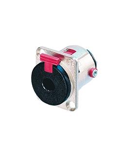 NJ3FP6C - Ficha Jack Painel 3.5mm Stereo com Bloqueio - NJ3FP6C