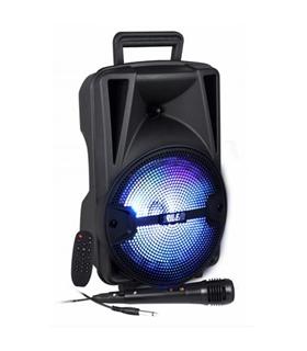 HPSB8M - Coluna Portatil Bluetooth 60W + Microfone - HPSB8M