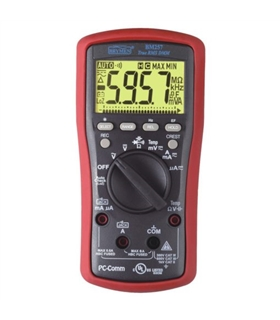 BM257S - Multimetro TRMS, VFD %4~20mA dBm T1/2 USB - BM257S