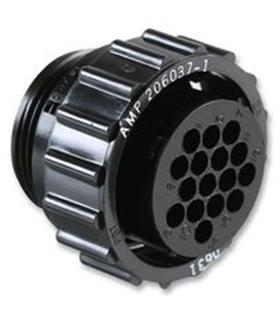 206037-1 - Conector Circular CPC 16 Contactos - 2060371