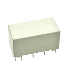 HFD2/024-S-L2 - Relé Electromagnético DPDT 24Vdc 3A - HFD2/024-S-L2