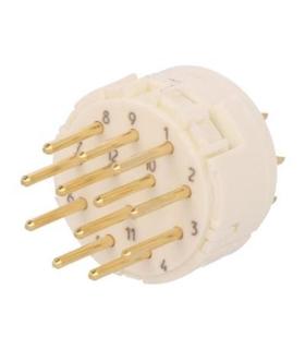 09151172602 -  Conector M23 17 Pinos 160V 8A HARTING - 09151172602