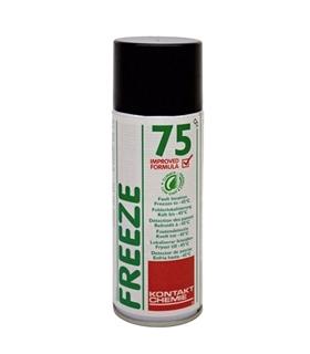 Freeze 75 HFOG - Spray de Gelo, 400ml Isento de HFCS - 191675HFOG