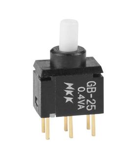GB-25 - Pulsador DPDT ON-(ON) - GB25AP