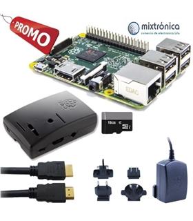 Kit Raspberry Pi 3 B+ com 16Gb, Alimentador 2.1A - RASP3+KITA