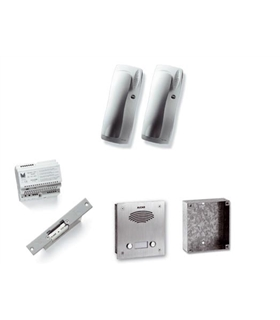 Kit antivandálico de 1 pulsador duplo, Digital a 2 fios - KAD-67001