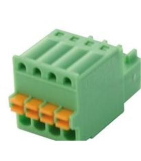 FK-MC 0.5/4-ST-2.5 - Pluggable Terminal Block, 2.5 mm 4 Ways - FKMC054ST25