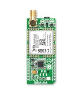 MIKROE-1298 - Daughter Board, GSM Click - MIKROE1298