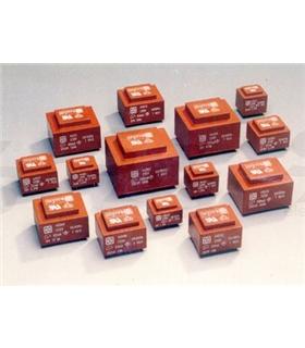 Transformador, 230V, 0-18V 1.5Vas C.Impresso - T2181.5VA