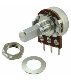 P231-FA25BR50K - Potenciómetro Rotativo Linear 50k - P231FA25BR50K