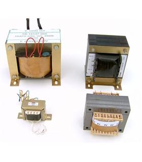 Transformador Prim: 230V, Sec: 24V, 120VA - T224120VA