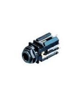 NJ5FD-V - Ficha Jack 6.35mm Femea Neutrik - NJ5FD-V