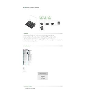 SD-9803 - Conjunto de Chave c/ 32 Bits ProsKit - SD-9803