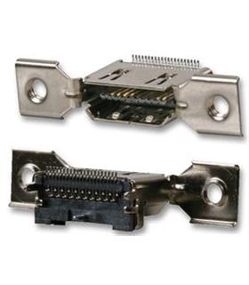 51V019S-3WN-BD - Ficha HDMI Macho 90º CI - 51V019S-3WN-BD