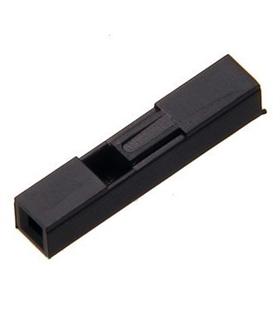 Pack 25 Conectores Femea 1 Pino - MXK0172