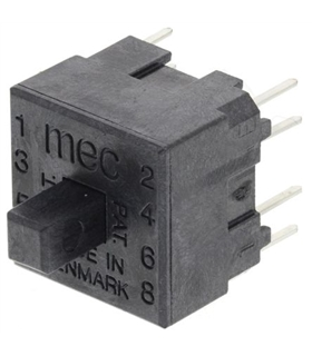 MEC15401 - Microswitch DPST-NO 0.025A - MEC15401