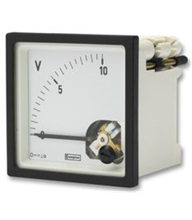 Voltimetro Analogico 60Vdc 92x92mm - 9600600000B