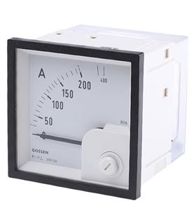 Amperimetro de Painel 68x68mm 0-200/400A - EQB72MB400