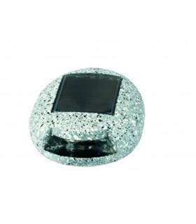 C-0489 - Pedra Com Painel Solar Decorativa - C-0489