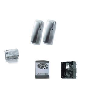 Kit de 1 pulsador duplo, com sistema de chamada 4+N s/trinco - KAD-41021