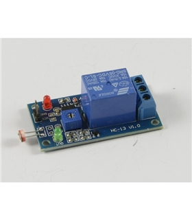 Sensor de luz LDR com Rele - MX04026