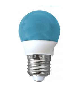 2002373 - Lampada E27 Bulb 2W 230VAC Azul - 2002373