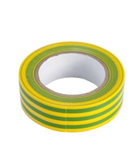 Rolo de Fita Isoladora 3M Amarelo/Verde  0.13mmX18mmX20m - FIS20YG3M