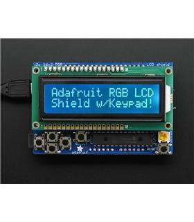 ADA714 - RGB LCD Shield Kit 16x2 Character Display - ADA714