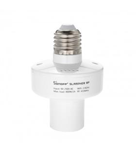 Suporte Lâmpada E27 Inteligente RF433Mhz + WiFi - Sonoff - MX151116005