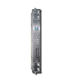 Transmodulador DVB-S/S2 a DVB-T, Saida multi-banda - TT-201