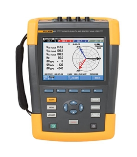 Fluke 437-IIBasic - 400 Hz Power Quality and Energy Analyzer - 4116719