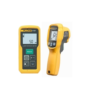 Fluke 414D/62MAX - Laser Distance Meter/Infrared Thermometer - 4296052