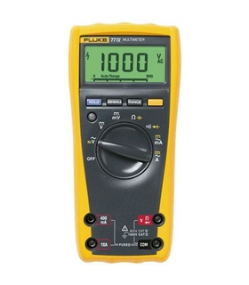 FLUKE77IV - Multímetro digital  Vac/dc, Aac/dc, Ohm - 3947835