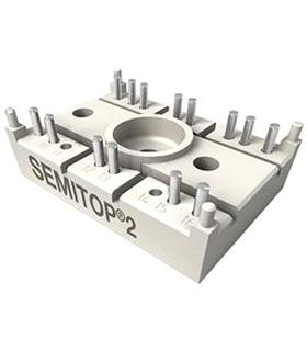SK20NHMH10 - Modulo Thyristor 21A 1kV Semitop 2 - SK20NHMH10