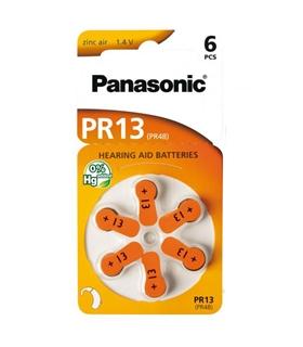 PR13 - Pilha Aparelho Auditivo Panasonic PR13 Blister 6 - 169PR13