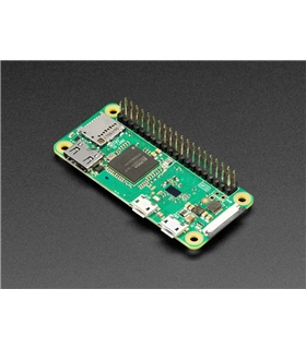 Raspberry Pi  Zero Wireless + Headers - RASPBERRYBZEROWH