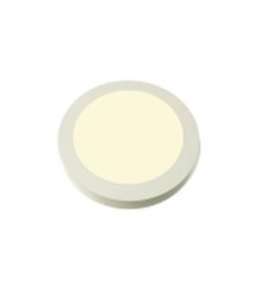 Painel LED Redondo de Superficie 230V 12W 4000k 17cm - LL661/12S84