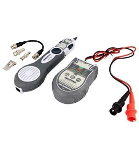 TCT-700 - Testador de Continuidades, c/ Adaptadores BNC e RJ - TCT-700